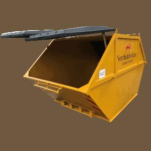 UK Skip Manufacturer Waste Management Open Lid
