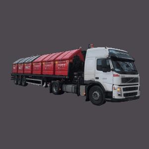 UK Skip Front-End-Load (FEL) Manufacturer Waste Management with Transport