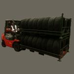 UK Stillage Manufacturer Automotive Folding Tyre Stillage 2