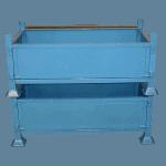 UK Stillage Manufacturer Industrial Waste Recycling Bins Blue