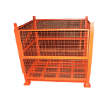 UK Stillage Manufacturer Mesh Drop Down Stillage Cages