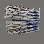 UK Stillage Manufacturer Corner Wall Stillage