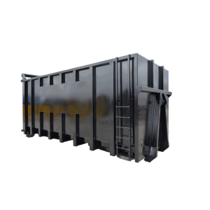 UK Flat Sided Roll On Roll Off (RORO) Hooklift (HLC) Container Manufacturer Waste Management
