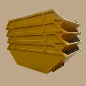 UK Skip Manufacturer Waste Management Interstacked 8 Yd Open Builders Skip