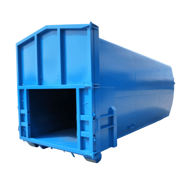 UK Roll On Roll Off (RORO) Smooth Compaction Hooklift (HLC) Container Manufacturer Waste Management