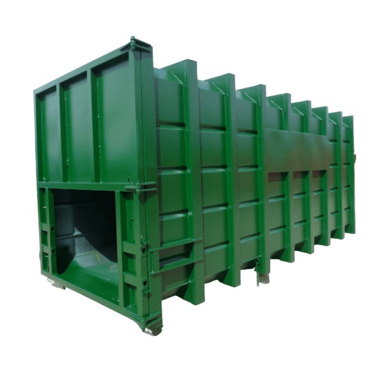 UK Roll On Roll Off (RORO) Swaged Compaction Hooklift (HLC) Container Manufacturer Waste Management