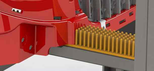 Rubber Brush Dunnage