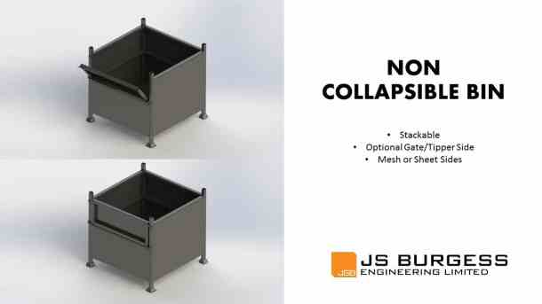 Non Collapsible Bins