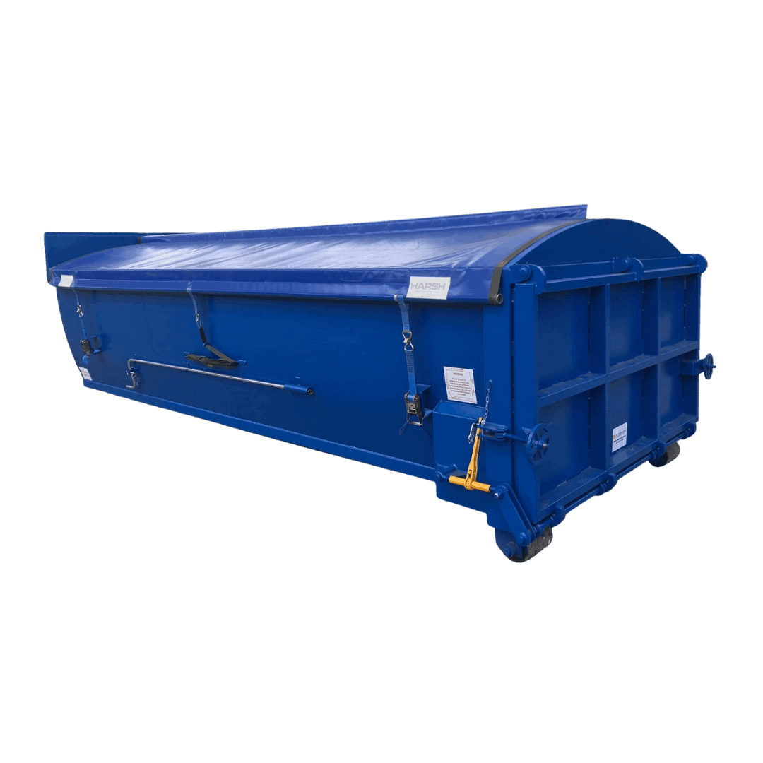 Enclosed RoRo Container Harsh Roll N Go I