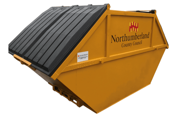 UK Skip Manufacturer Waste Management Closed Lid