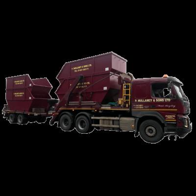 UK Skip Manufacturer Waste Management Block End Transportation