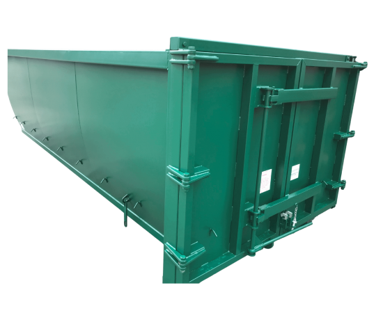 UK Double Door Roll On Roll Off (RORO) Hooklift (HLC) Container Manufacturer Waste Management