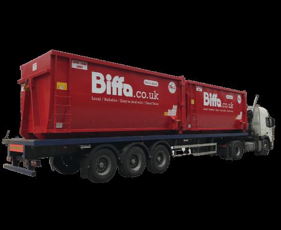 UK Ladder Transport Roll On Roll Off (RORO) Hooklift (HLC) Container Manufacturer Waste Management