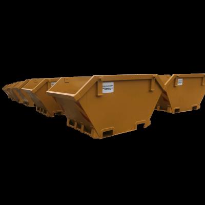 UK Skip Manufacturer Waste Management Mini Skip with Fork Pockets