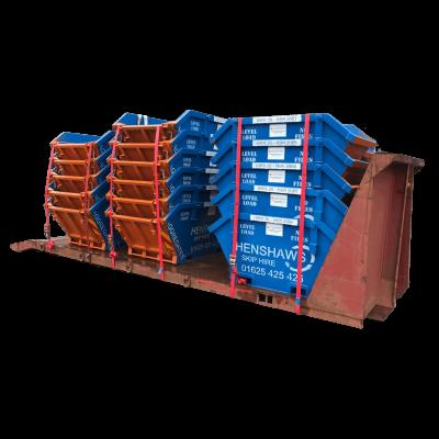 UK Skip Manufacturer Waste Management Midi 4 CUYD Skips