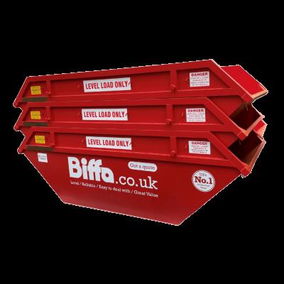 UK Skip Manufacturer Waste Management 8 Yd Open Builders Skip