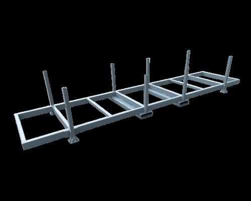 UK Manufacturer stacked Pipe & Construction Stillages