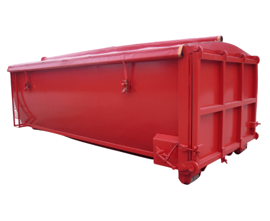 UK Smooth Sided Roll On Roll Off (RORO) Hooklift (HLC) Container Manufacturer Waste Management